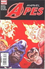 Marvel Apes #3 (2008) Marvel comic book